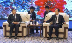 自民党前干事长石破茂访华 呼吁加强双边关系