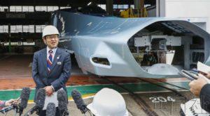 JR东日本展示新一代新干线试验车辆 明年5月完成
