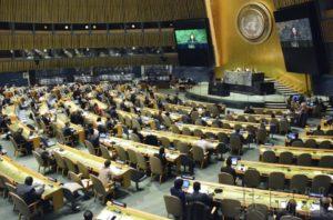 联大决议敦促批准禁核条约 日本废核决议亦获通过