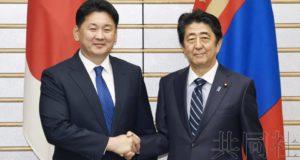安倍与蒙古总理就合作解决绑架问题达成一致