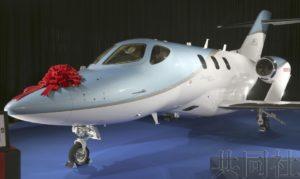 """本田首架商务喷气机""""HondaJet Elite""""在日交付"""