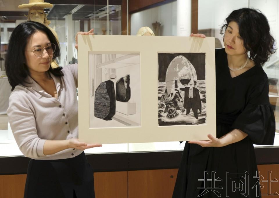 大英博物馆明年将举行大规模日本漫画展