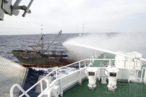 日本海保今年已对1624艘朝鲜渔船发出驶离警告