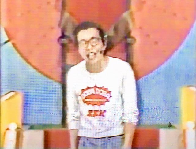 自身の初冠番組『所ジョージのドバドバ大爆弾』でMCを担当する所ジョージさん