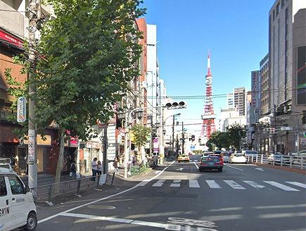 六本木(ドン・キホーテ六本木店付近)