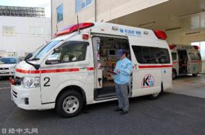 日本救护车出动次数创新高 与老龄化有关?