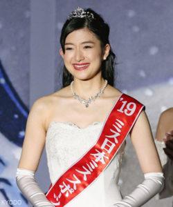 东大学霸摘得日本小姐冠军