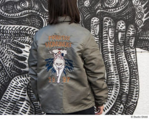 主打《幽灵公主》 吉卜力推出联动款夹克衫