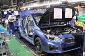 零部件缺陷解决 斯巴鲁日本工厂恢复生产