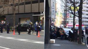 日本一名高龄男子开车冲上人行道 造成共7人受伤