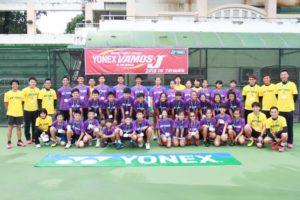 网球》持续培育亚洲新星YONEX VAMOS.J训练营五度来台