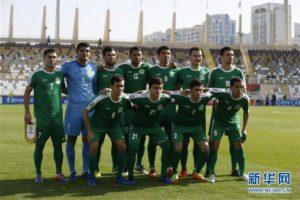 F组:日本队对阵土库曼斯坦队