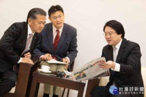日本八代市长再访基隆林右昌盼更多合作交流