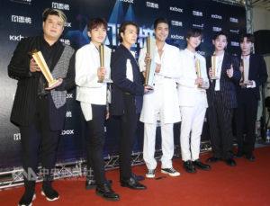 日韩团嗨翻小巨蛋Super Junior乃木坂登台唱跳