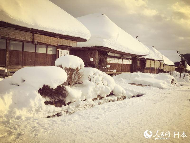 大内宿:繁华落尽 雪中独守