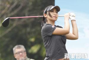 日立高球赛樱花3妹压阵宫田志乃好身材可惜被淘汰
