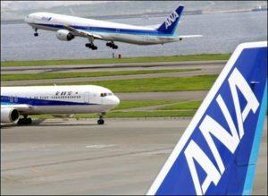 全日空飞机引擎故障导致大阪机场一条跑道关闭40分钟
