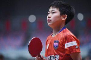 日本乒坛11岁神童横空出世!曾夺男单冠军,豪言超越张本智和