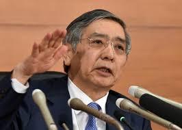 日本央行行长称意外事件影响东京股市