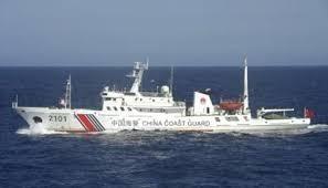 中国海警船一度驶入尖阁领海 为今年第3天