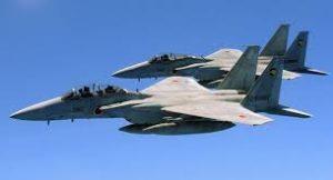 去年4至12月日本战机紧急升空758次