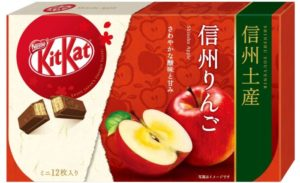 KitKat巧克力信州限定苹果口味