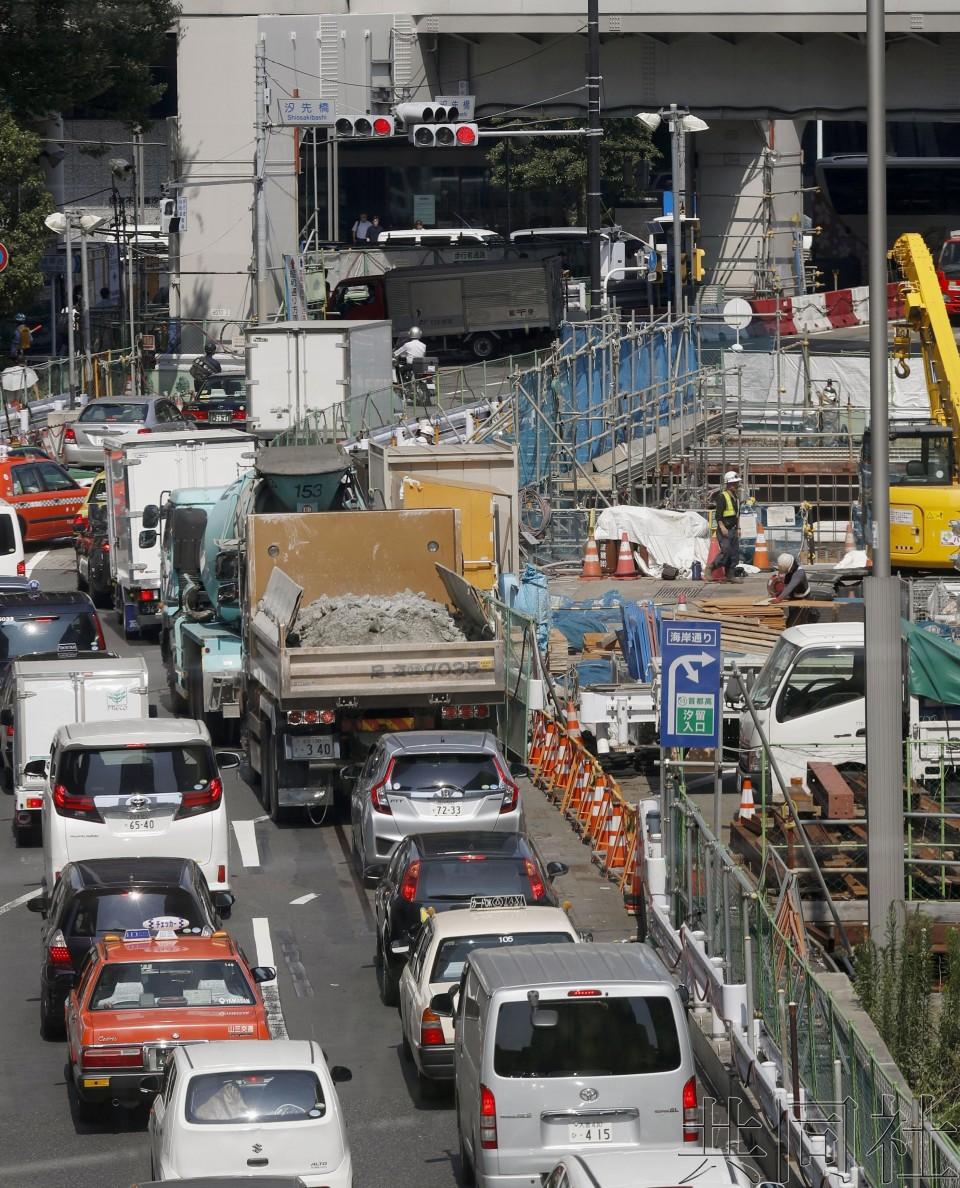 关注:日本设法缓解东京奥运拥堵 探讨浮动通行费