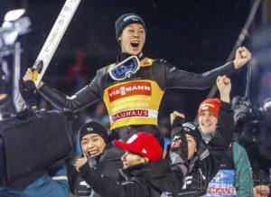 小林陵侑夺得跳雪四山赛总冠军 为史上第三人