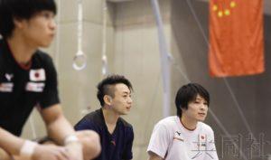 日中体操男队举行联合集训 竞争对手相互切磋