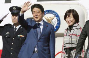 安倍启程访问俄罗斯和瑞士 力争推进日俄和平条约谈判