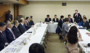 自民党听取驻韩大使报告 议员主张采取对抗措施