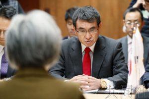 """日韩外长会谈未取得共识 围绕""""威胁飞行""""展开交锋"""