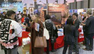 日本团体参展纽约旅博会推介地方魅力