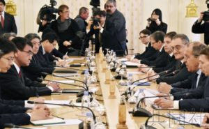 详讯2:日俄外长启动和平条约谈判 双方就北方四岛主权对立