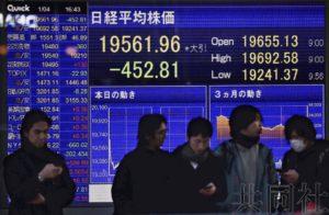 日经指数下跌2.26% 新年首日开局不利