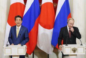 普京就日俄首脑会谈展现缔结和平条约意愿