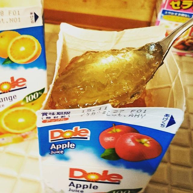 簡単レシピでガッツリ食べられる紙パックゼリー【連載:アキラの着目】