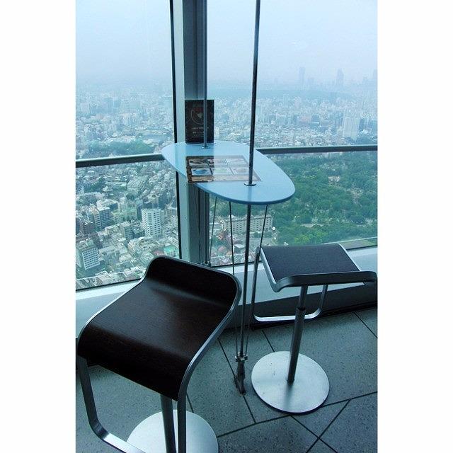 六本木ヒルズ52F 東京シティビューにあるカフェ