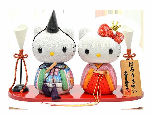 数量限定・売切れ必至!キティちゃんの手作りひな人形キット【連載:アキラの着目】