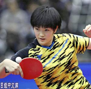 不仅张本智和,日本乒乓小小狼也来了