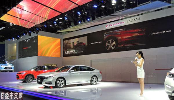 本田和马自达1月在华新车销量分化明显