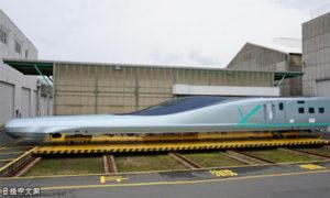 车头22米!日本下代新干线试验车辆公开