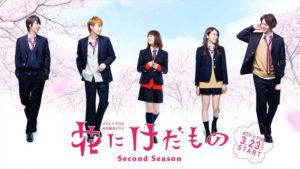 漫改日剧《花予野兽》第二季3月播出