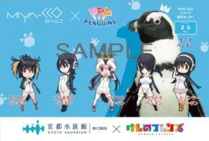 《兽娘动物园》与京都水族馆偶像企鹅组合联动