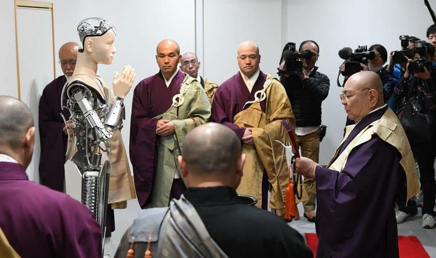 观音机器人在日本面世,AI也能成佛吗?