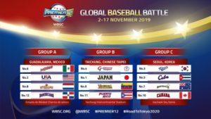 【世界12强赛】分组确定台、日、2中南美洲球队同组