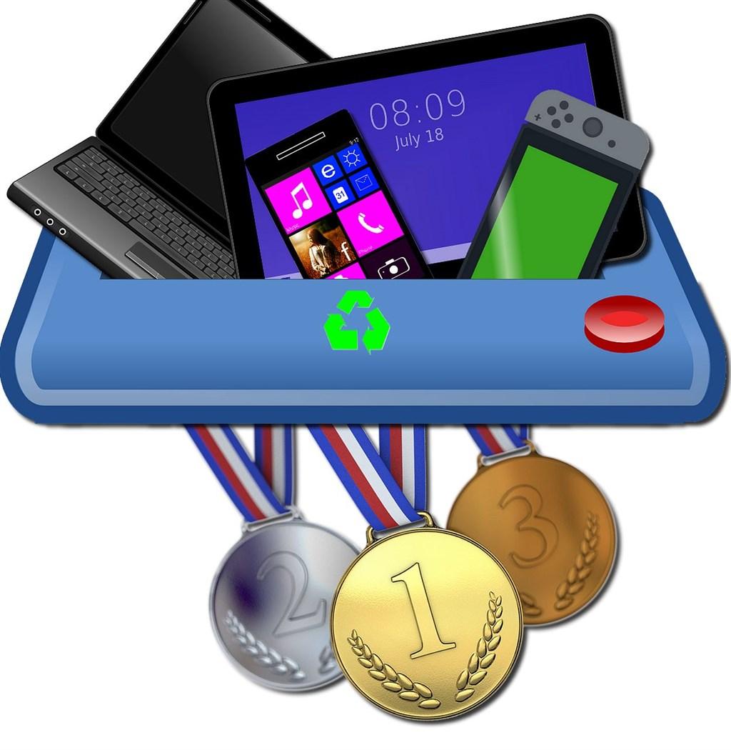 2020东京奥运奖牌百分百回收再生金属