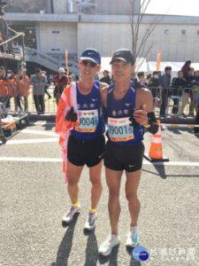 增进台日路跑交流台北菁英选手于爱媛马拉松获佳绩