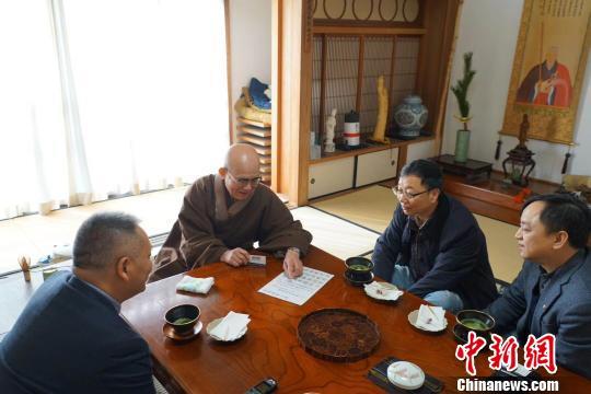 中日黄檗文化民间友好交流频繁