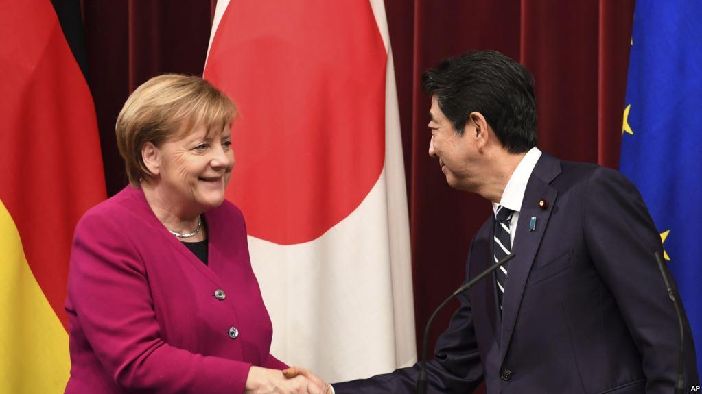 德国和日本接近达成分享机密情报协议